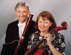 """""""Salut d'amour – klassisch-romantisches Konzert mit Harfe,  Cello  und Fagott"""""""